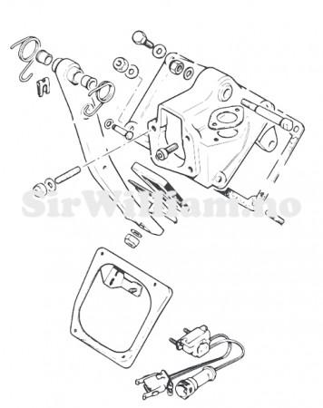 Pedal og innfestning - ABS